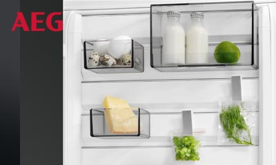 Aeg Kühlschrank Wasser : Aeg kühlschrank mit customflex elektroinstallation