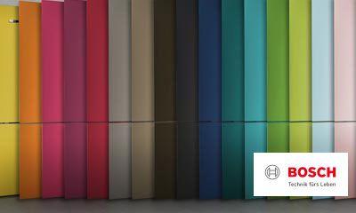 Bosch Kühlschrank Roter Schalter : Bosch vario style farbige fronten für ihren kühlschrank