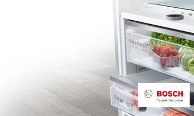 Bosch Kühlschrank Biofresh : Bosch macht platz bis zu prozent mehr platz und vitafresh pro