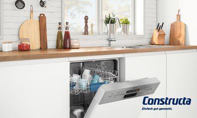 Constructa: spülen elektroinstallation elektrogeräte küchen