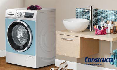 Constructa waschen und trocknen elektroinstallation