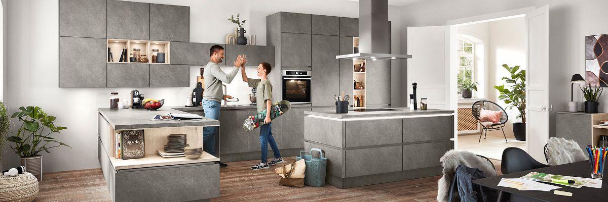nobilia Küchen - Elektroinstallation, Elektrogeräte, Küchen ...