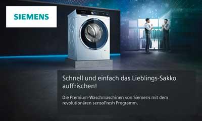 Siemens Kühlschrank Iq700 : Siemens iq waschmaschine mit sensofresh elektroinstallation